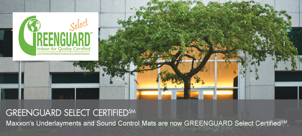 GREENGUARD SELECT CERTIFIED