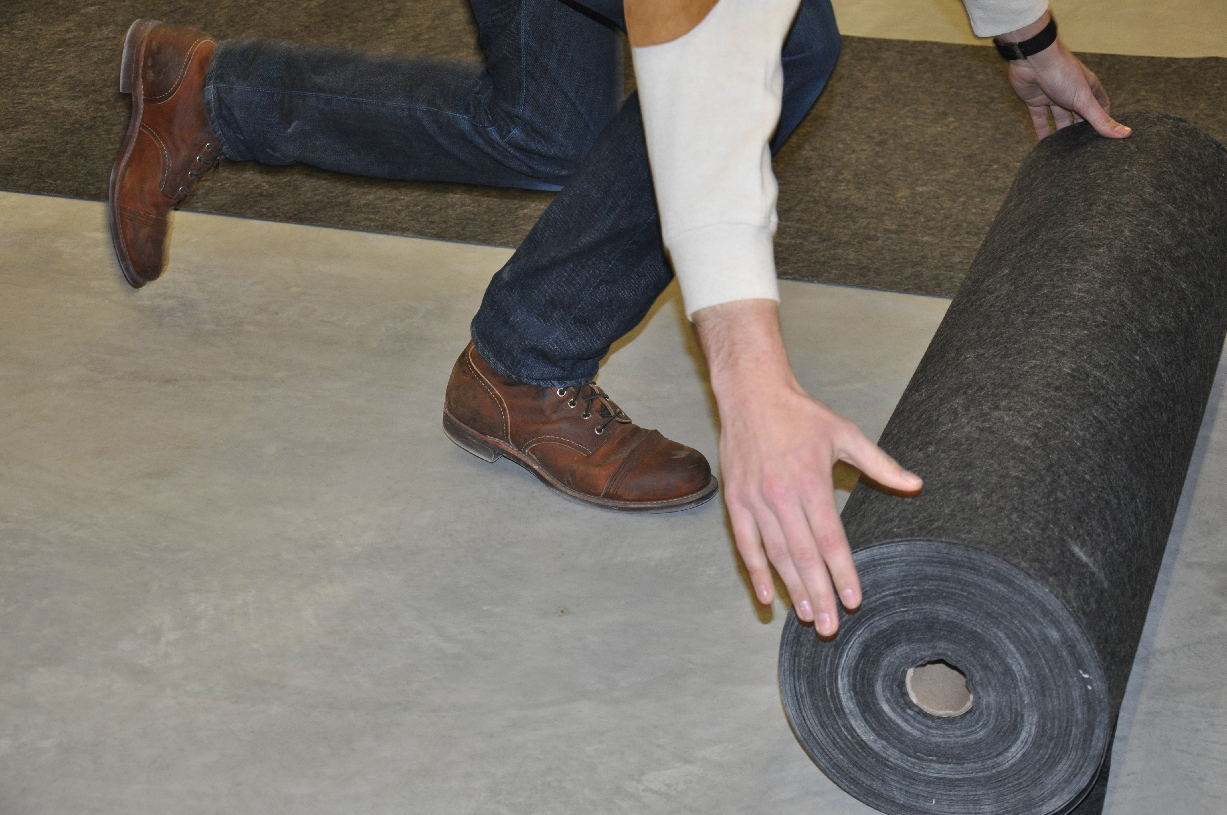 Acousti-Mat sound mat also offered as a green product