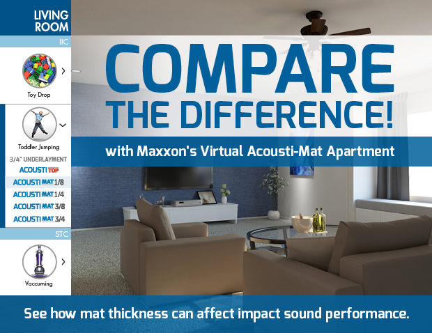 Virtual Acousti-Mat Apartment